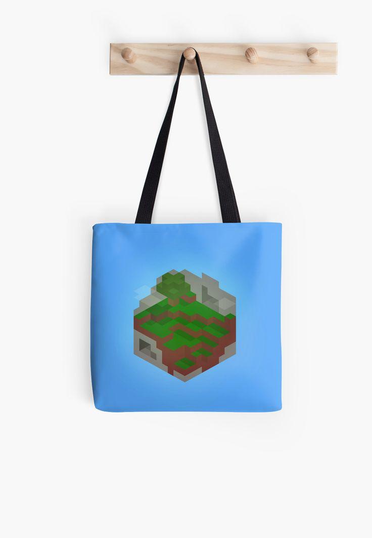 Minimalistic Minecraft Cube World