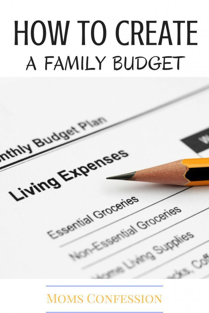 how to create a budget for your family that works for you save