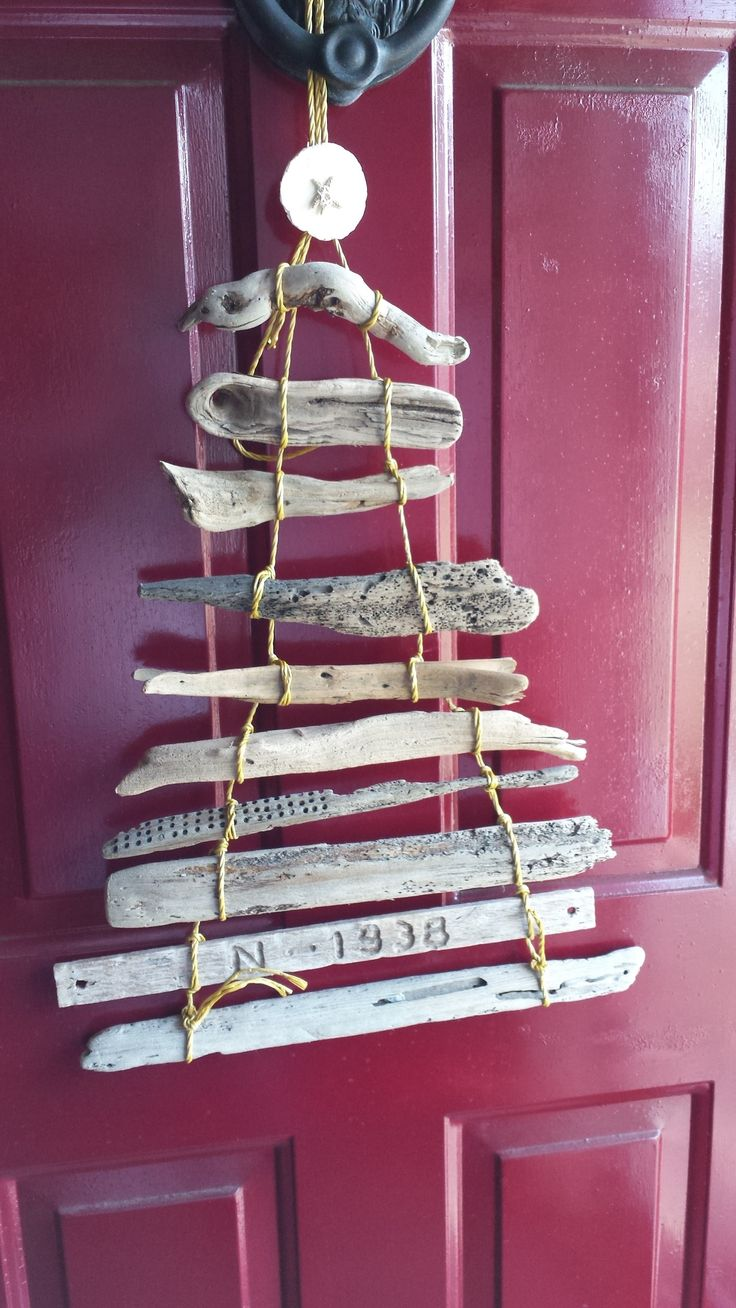 Driftwood christmas tree made by me driftwood christmas