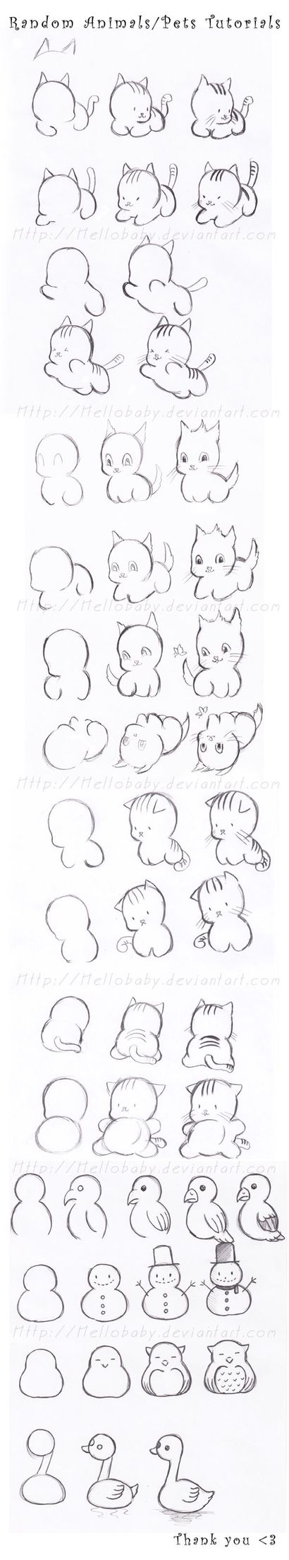 Chibi Adorably Cute Animal Drawing Tutorial How To -  Learn more about Wacom graphics tablets, go to Wacomtabletreviews.net