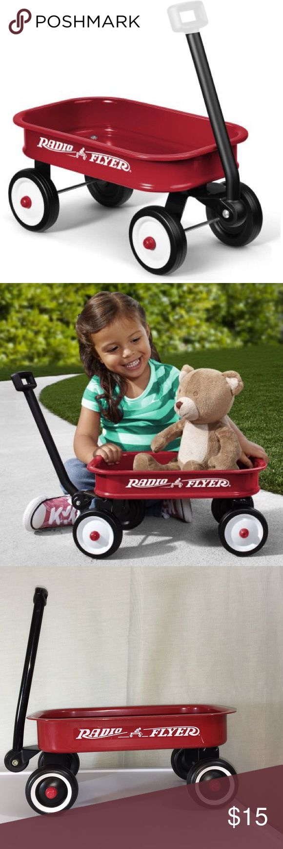 Small Radio Flyer Wagon A small radio flyer model that is perfect for children to play with! Like new condition! Radio Flyer Other