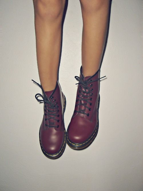 If anyone ever want s to buy me anything you can buy me a pair of dr. martens:)