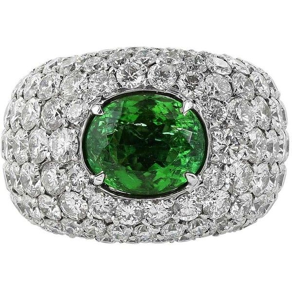 Best 25 Green Diamond Rings Ideas On Pinterest Tiffany