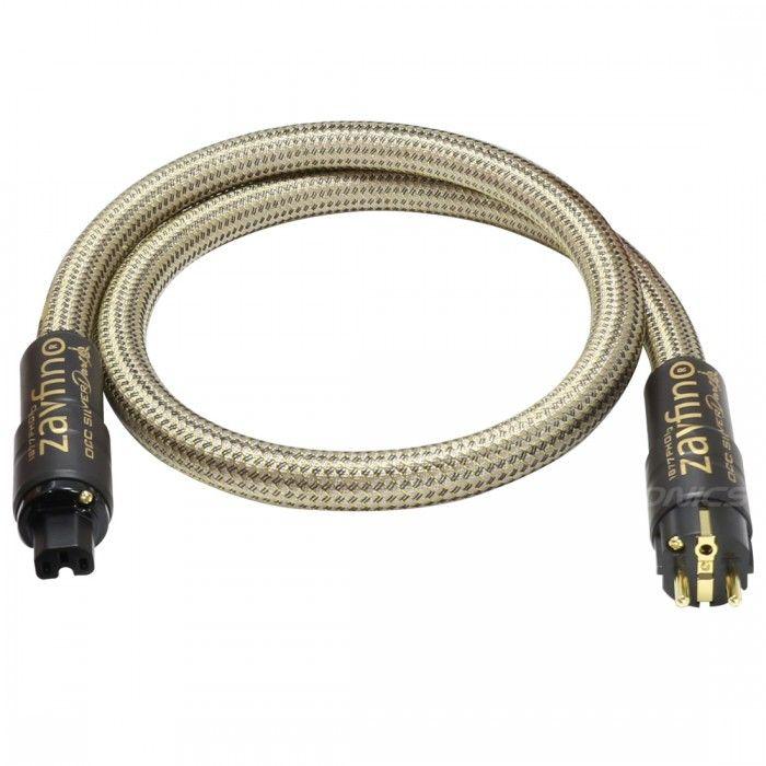 """Voici le câble secteur OCC Silver Dart par 1877Phono, ayant des conducteurs en #Cuivre #OCC Cristal de 3x5.26mm². Ce dernier est l'aboutissement de 3 années de développements et de tests en utilisant leur technique propriétaire """"H-Wound™ associée à leurs conducteurs dopés HDPE graphène."""