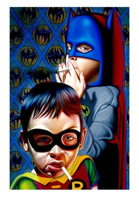 LOS PLATOS COMO OJOS.: Ron English: Surrealismo Pop.