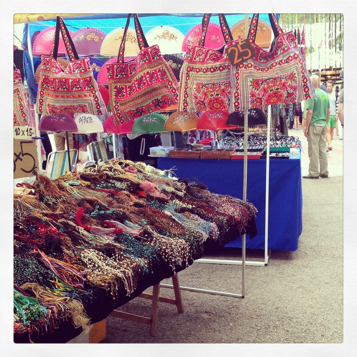 Hippy market, Ibiza June 2013.