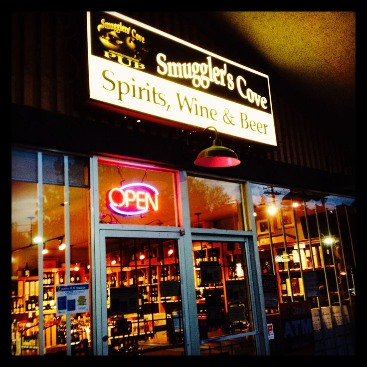 #SmugglersCoveLiquorStore in #CadboroBayVillage locally owned and operated, carrying a wide selection of British Colombian wines and Island made spirits and ciders