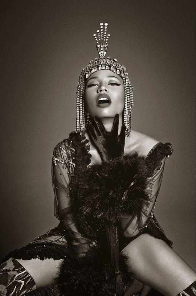 fuckyeahfamousblackgirls: Nicki Minaj photographed by Francesco Carrozzini, Vogue Italia December 2014