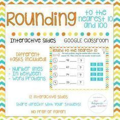 Rounding to Nearest 10/100  Google Classroom   Interactive   TEKS 3.4B 3.NBT.A.1