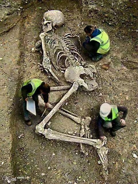 Gigantic Human Skeleton Found In The Mountains After Nepal Earthquake