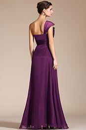 2014 Новое Элегантное Фиолетовое с Бантом Вечернее Платье / для Подружек Невесты(C36141506)