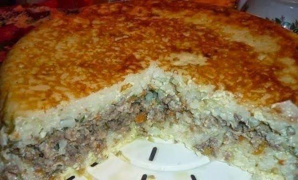 Домашние Рецепты как у мамы: Рисовая запеканка с мясом