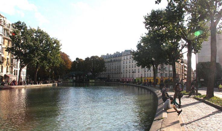 Canal  st Martin  Celine Bousquet / Mairie de Paris