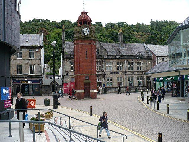 Bangor Clock Tower, Wales