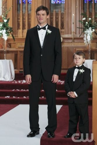 A handsome groom ;) - Austin Nichols - One Tree Hill This is how I want my husband and my ring bearer to look like :D