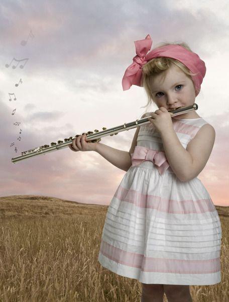 Дети играют на флейте картинки