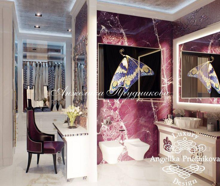 Дизайн интерьера пентхауса в стиле Ар-Деко - ЖК Садовые кварталы - фото