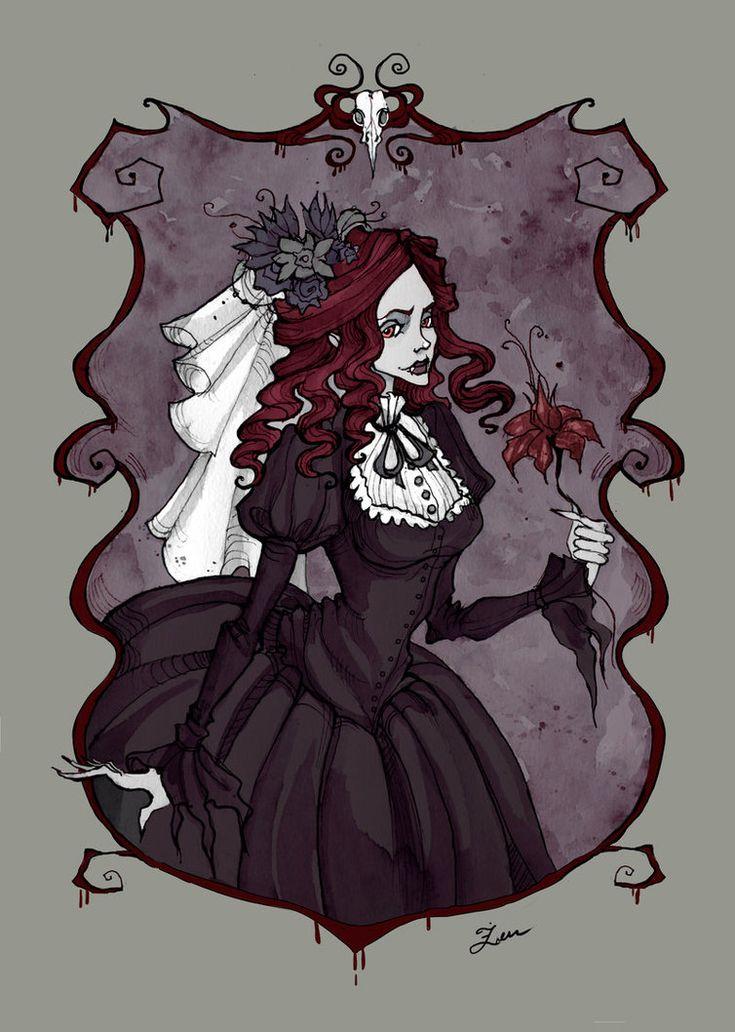 Bloody Lady by IrenHorrors.deviantart.com on @DeviantArt