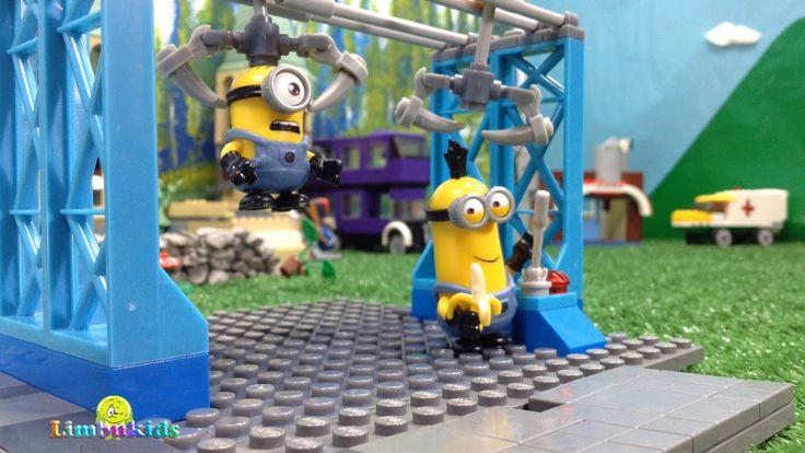 Minions Megablocks | Minion Trata de Robar una Banana 🍌 | Historias con ...