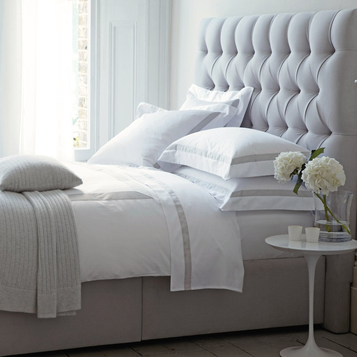 Richmond bed from the white company home decor for Quilted bed frame