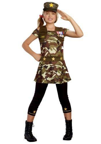 Cadet Cutie Tween Costume