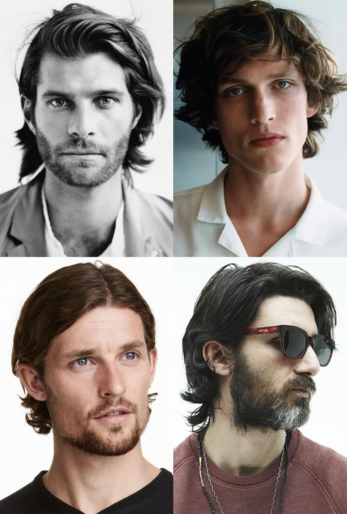 Men's Autumn's Best Haircuts: Mid-length Locks. #menshairstyles #menshair #midlength