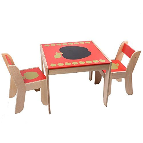 Toddler Table and Chairs Sets  sc 1 st  Pinterest : children table and chair set - pezcame.com