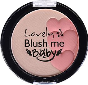 Lovely, 2w1 róż i rozświetlacz Blush me Baby