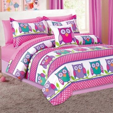 Hoot Owl Bed In A Bag //// Cuteness And In Pink. Owls And Pink!