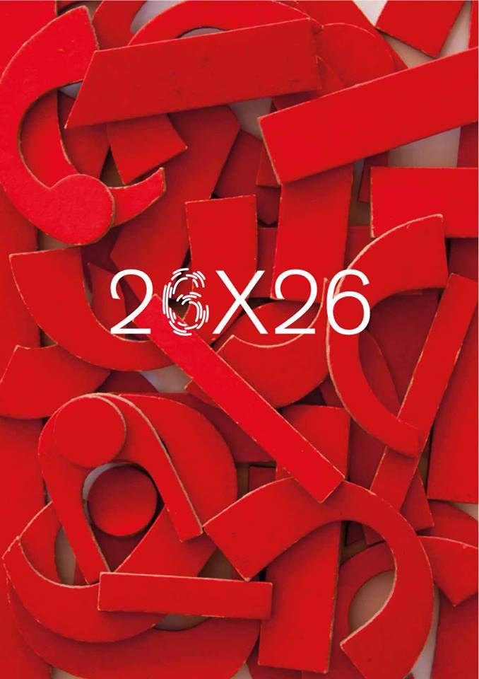 26 X 26 Fonts - Art Direction/Design: André Toet © 2016 #AndréToet