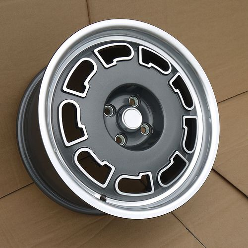 Slot style alloy wheels