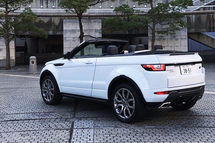 レンジローバー イヴォーク コンバーチブル Range Rover Evoque Convertible