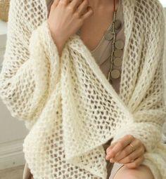 étole laine phildar