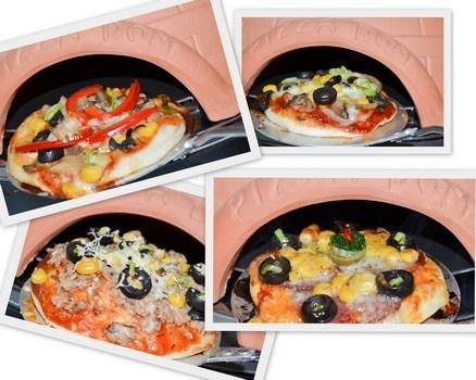 Pizza ca pe vatră, facută acasă