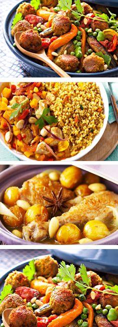 Plat traditionnel marocain, le tagine se décline à toutes les sauces : salé, à la viande et au poisson, sucré, en dessert !