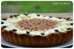 La cucina di Federica: Crostata alla crema e caffè