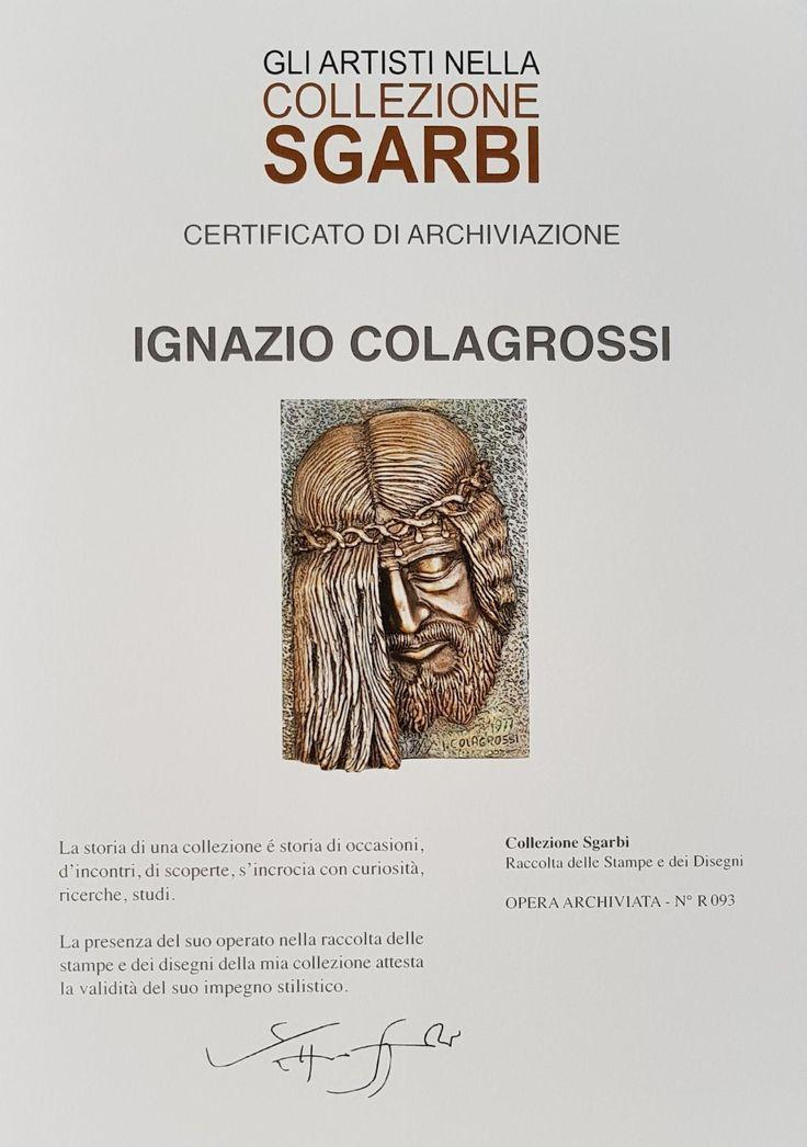 Le opere di Ignazio Colagrossi nella collezione Sgarbi