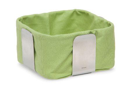 Blomus Desa Small Green Bread Baskets - Homebits UK