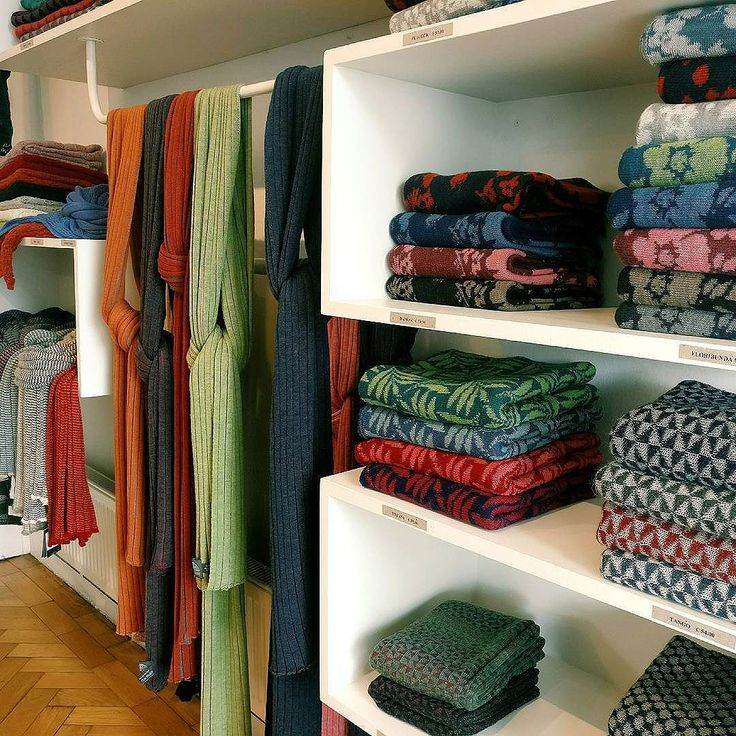 Shop to the front of our studio showcasing our bestsellers and new designs | McKernan Woollen Mills | Handmade scarves and accessories | Made in Ireland | Irish Design | Co. Clare | Weaving & Knitting