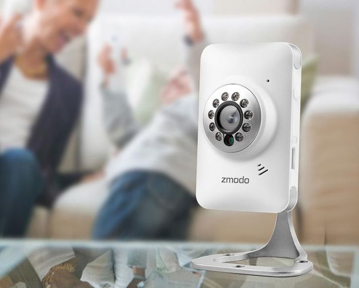Security Camera For Baby Monitor Mini Zmodo Motion Sensor  720P HD WiFi