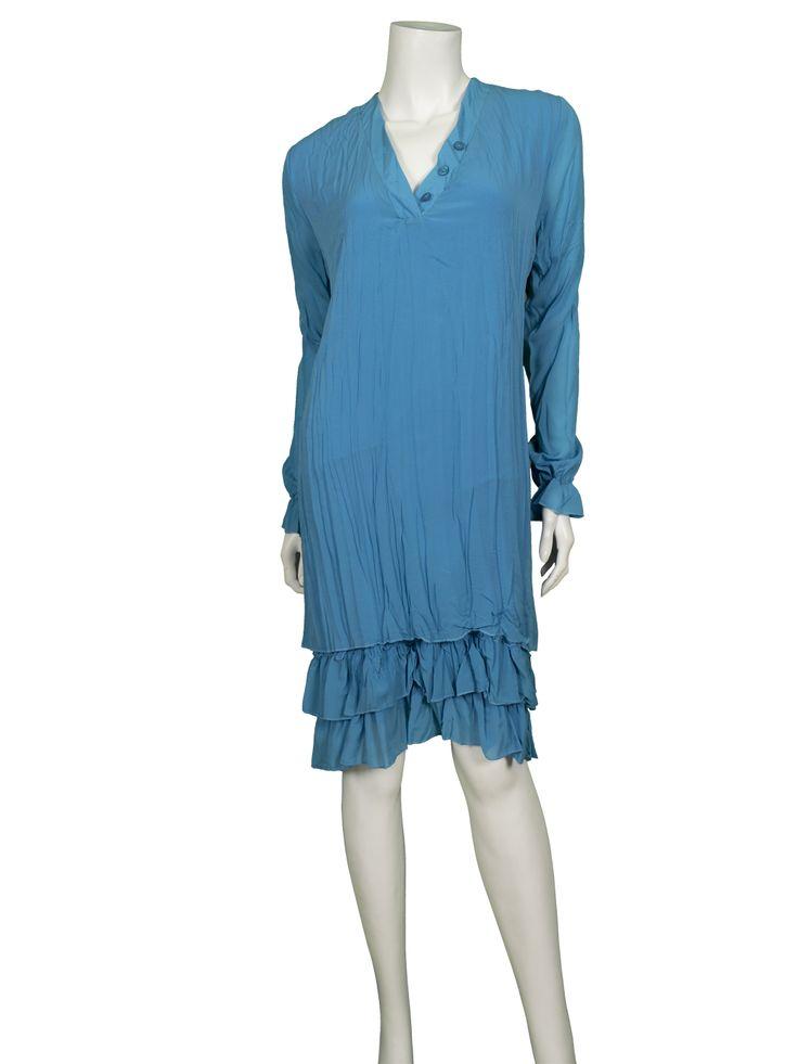 tunika kleid mit seide türkis  wwwinkleidchende