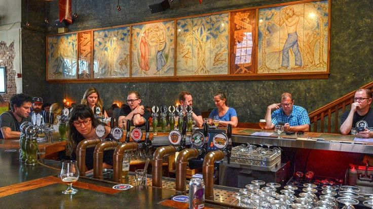 Celebrating 20 years of beer at Brick Store Pub in Decatur