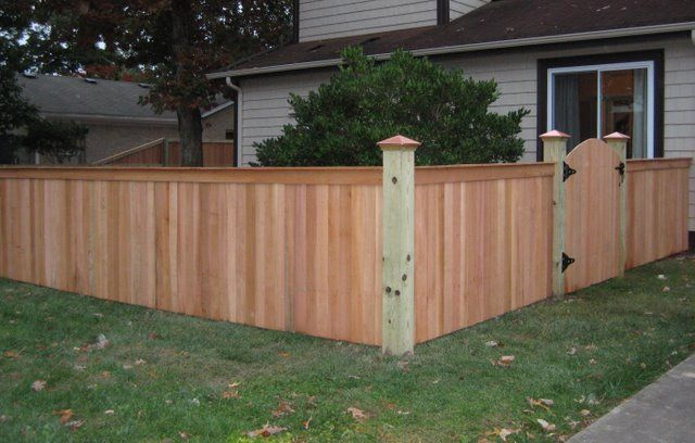 4 Ft Top Cap Sunrise Gate Wood Fence Spanish Colonial Decor Fence Builders