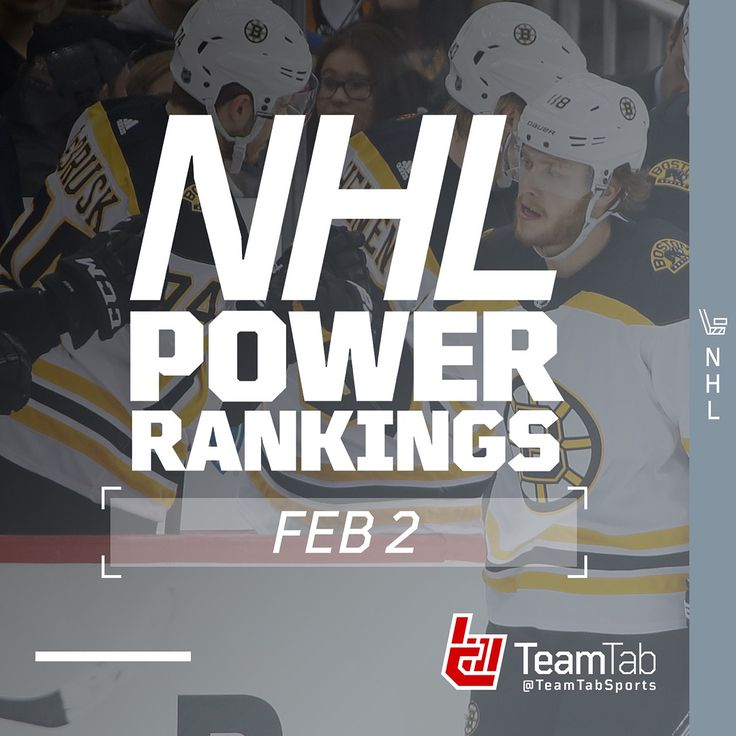 As we cruise through Week 17 heres our weekly update on the NHL Power Rankings. SWIPE  to see where your team stands!
