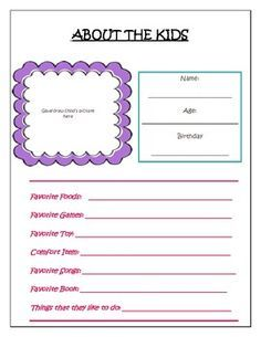 """MY BABYSITTING KIT"" PRINTABLE PACK - TeachersPayTeachers.com"