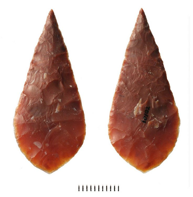 dating native american arrowheads