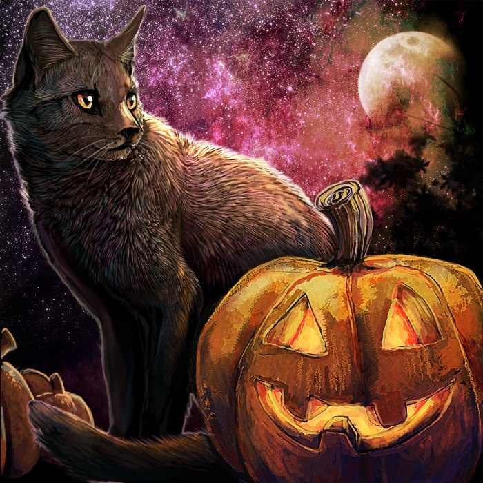 Halloween, All Hallows Eve, Trick or Treat, Witch, Cauldron, Goblin, Ghost, Black Cat, Bat, Skull, Spiders, Ghouls, Scarecrow, Skeleton, Grim Reaper, Grave Keeper, Vampire, Cobwebs, Candle, Jack-O-Lantern, Pumpkin, Spooky, Scary, Haunting, Creepy, Frightening, Full Moon, Autumn, Fall, Magic Potion, Spells, Magic, Haunted