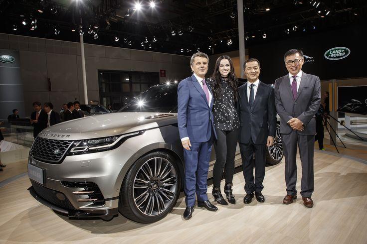 Singer-Songwriter Amy Macdonald and Jaguar Land Rover Shine at the Shanghai Auto Show