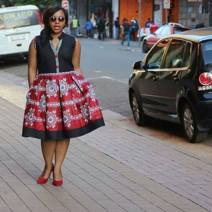 Bow Afrika Fashion is On point
