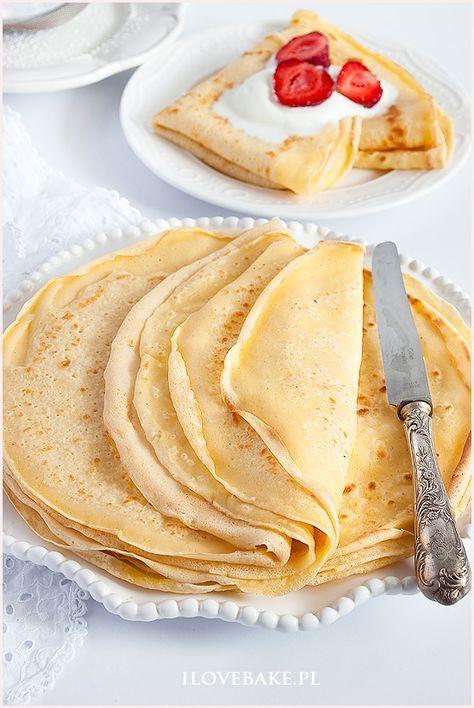 Naleśniki budyniowe #pudding #crepes